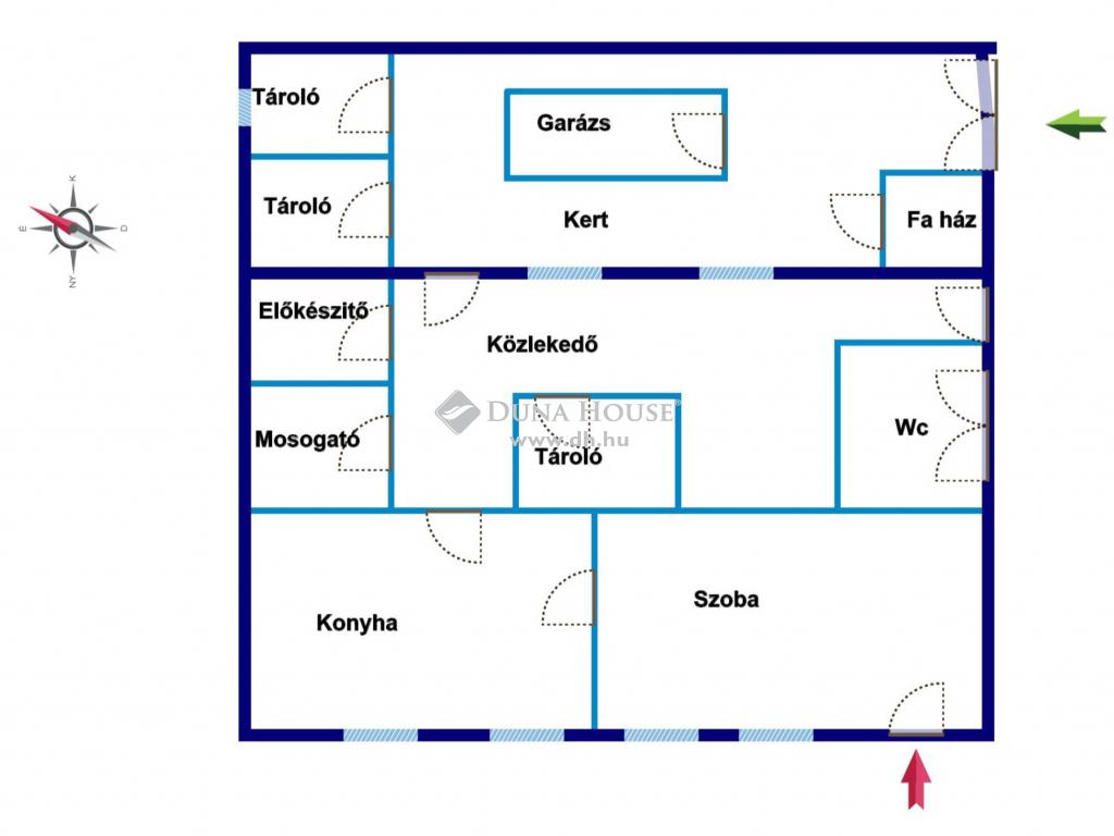 Eladó Ház, Pest megye, Dunakeszi - Központban felújítandó vagy bontandó ház eladó
