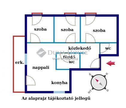 Új építésű 7 lakásos társasház Érd központban