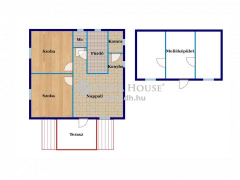 Eladó Ház, Bács-Kiskun megye, Ladánybene - Ladánybene szélén nagy telekkel