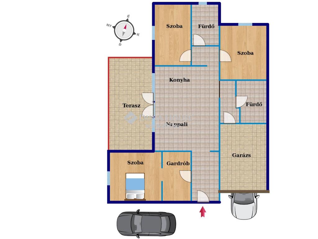 Eladó Ház, Vas megye, Szombathely - Kámon kedvelt részén, új építésű 4 szobás ház