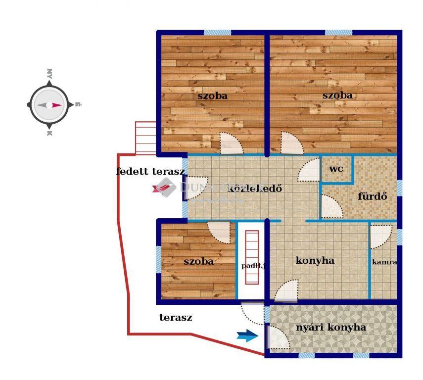 Eladó Ház, Fejér megye, Lajoskomárom - Békebeli masszív családiház